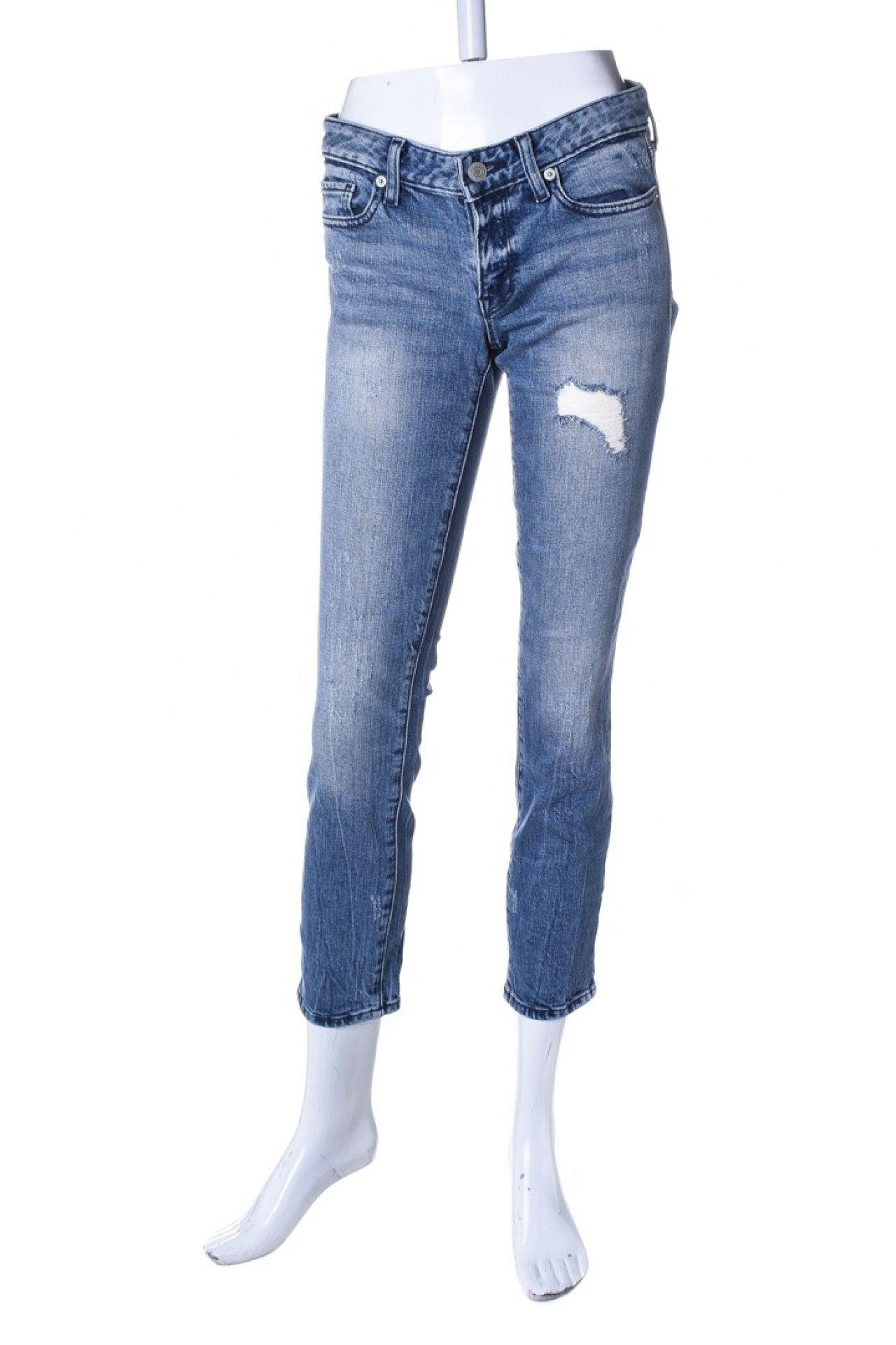 Gap - Calça Jeans Destroyed  - Foto 1