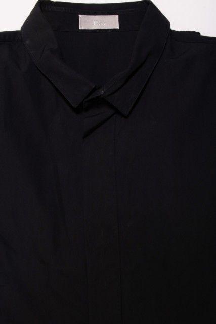 Camisa Preta Lisa Dior