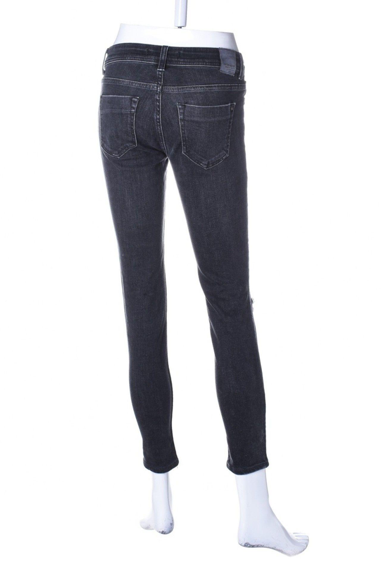 Zara - Calça Jeans Preta  - Foto 2