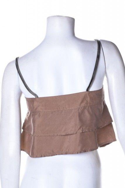 Blusa Bege Lisa Shoulder