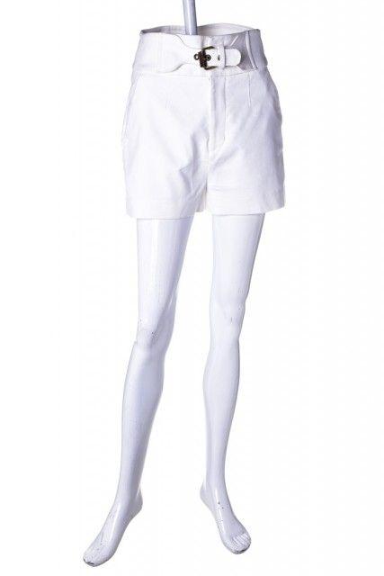 Short Alfaiataria Branco  Animale