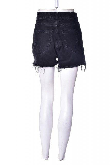 Short Jeans Preto  Rayza Nicácio
