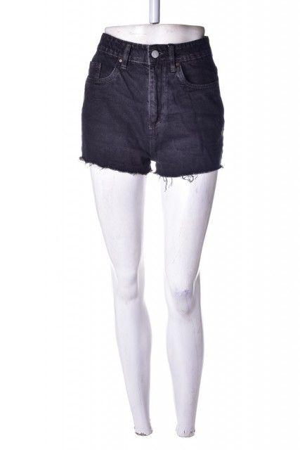 Short Jeans Preto  Cotton:on