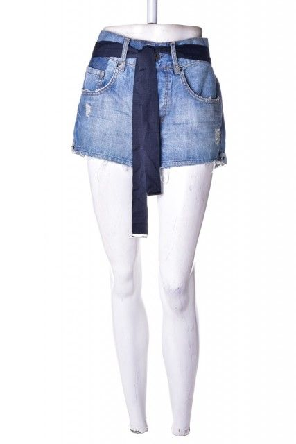Short Jeans Lavagem  Animale