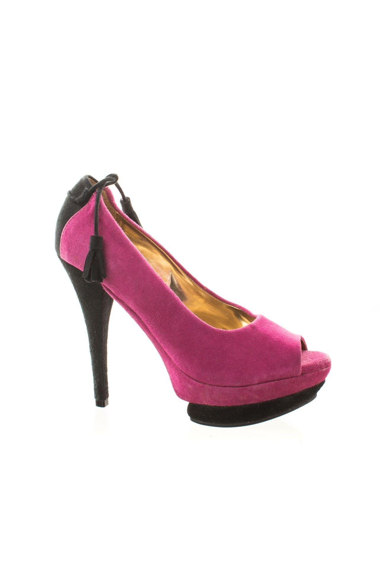 Lança Perfume - Sapato Rosa Salto - Foto 1