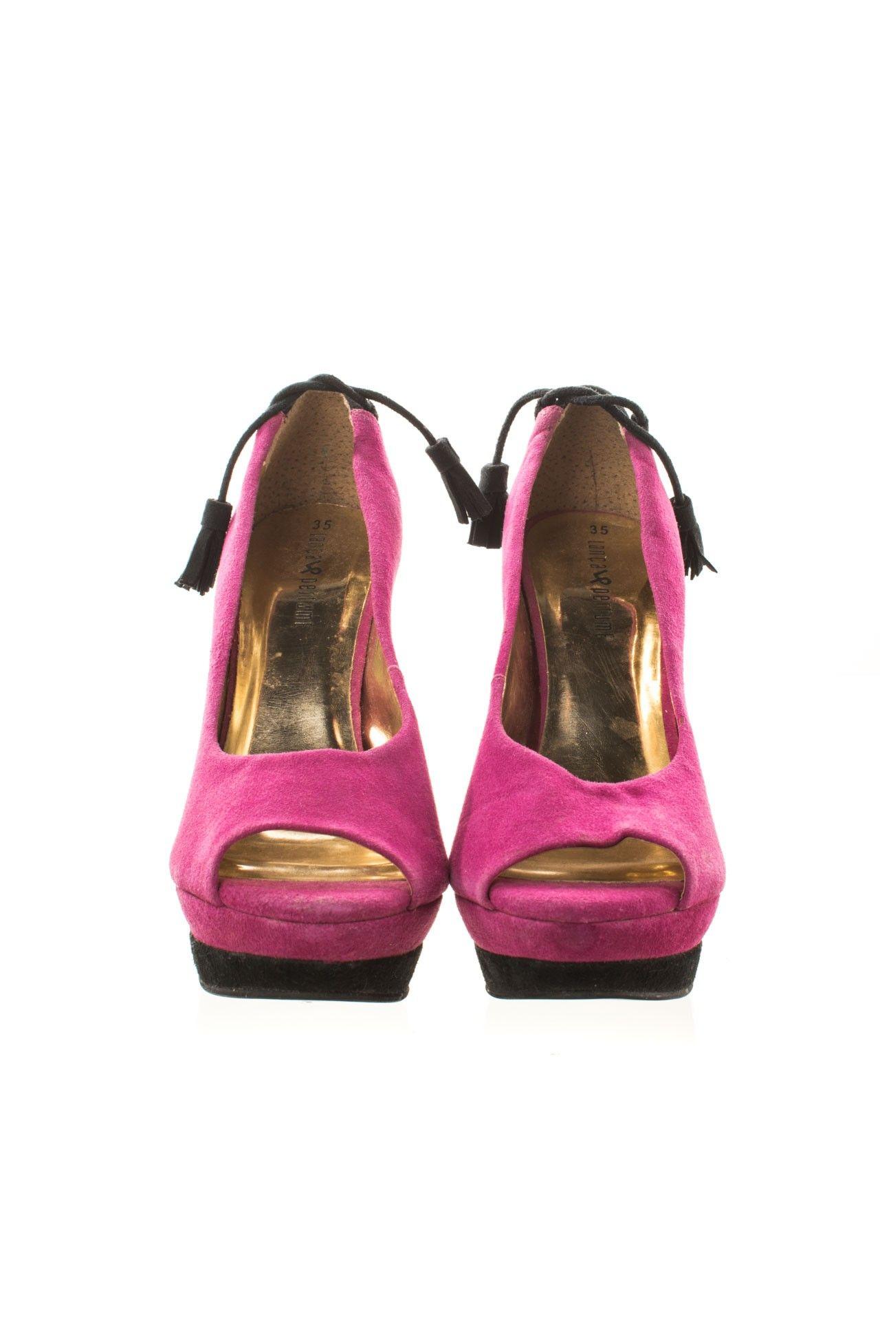 Lança Perfume - Sapato Rosa Salto - Foto 2