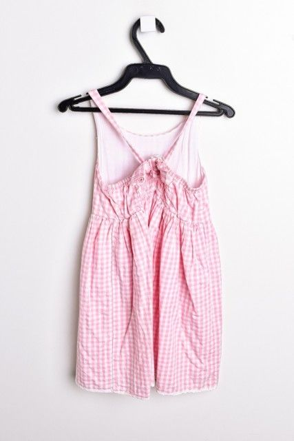 Vestido Vichy Rosa  MILA MILOU