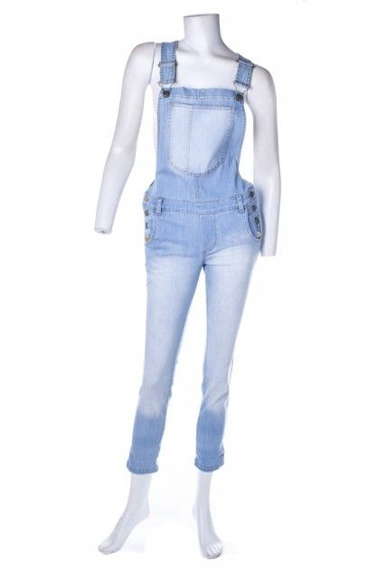Jardineira Jeans Azul NYBD