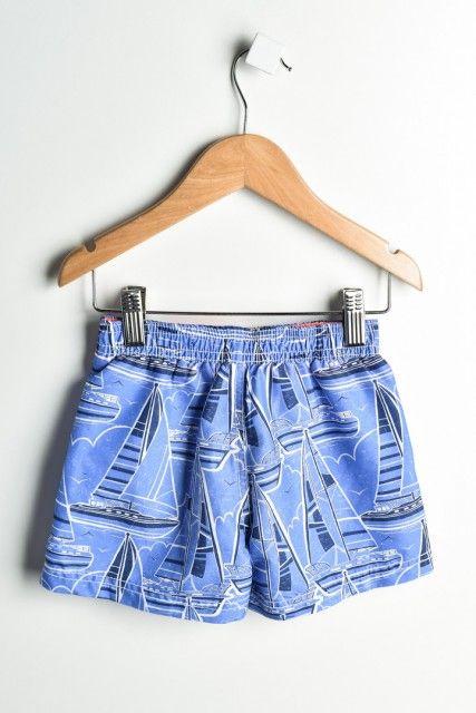 Shorts Azul Estampado Carter's
