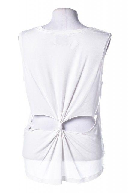 Blusa Branca Lisa Lolitta