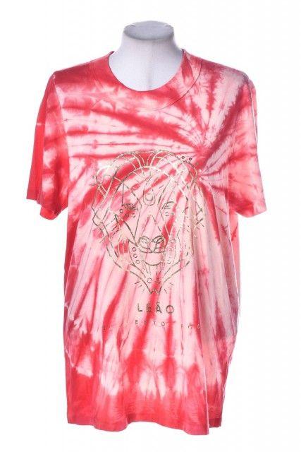 Camiseta Tie-dye Estampada  Colcci