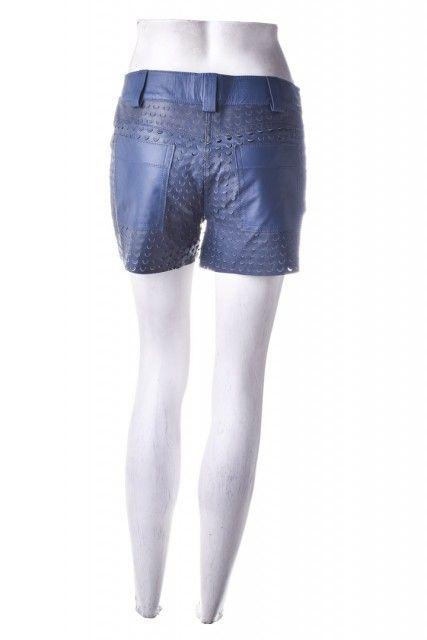 Shorts Azul Couro  Cruise