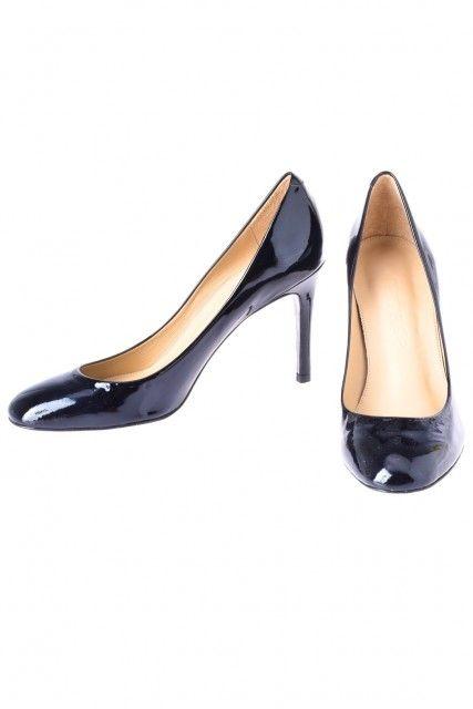 Sapato Prerto Verniz  Cavage
