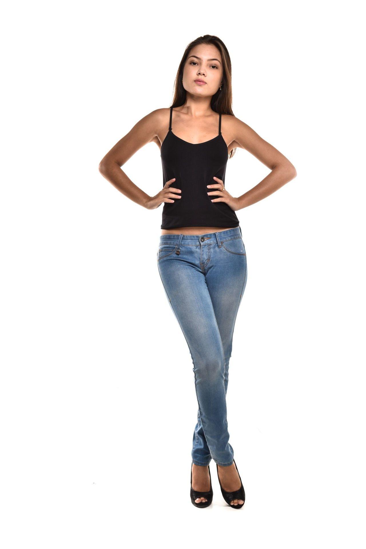 Armani Exchange - Calça Jeans Clara - Foto 2