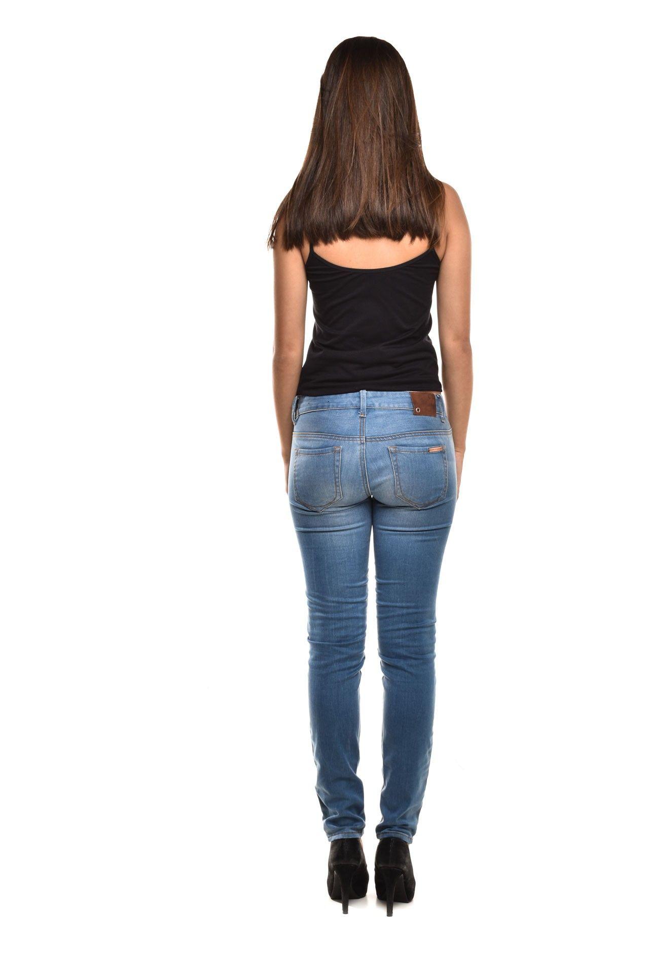 Armani Exchange - Calça Jeans Clara - Foto 4