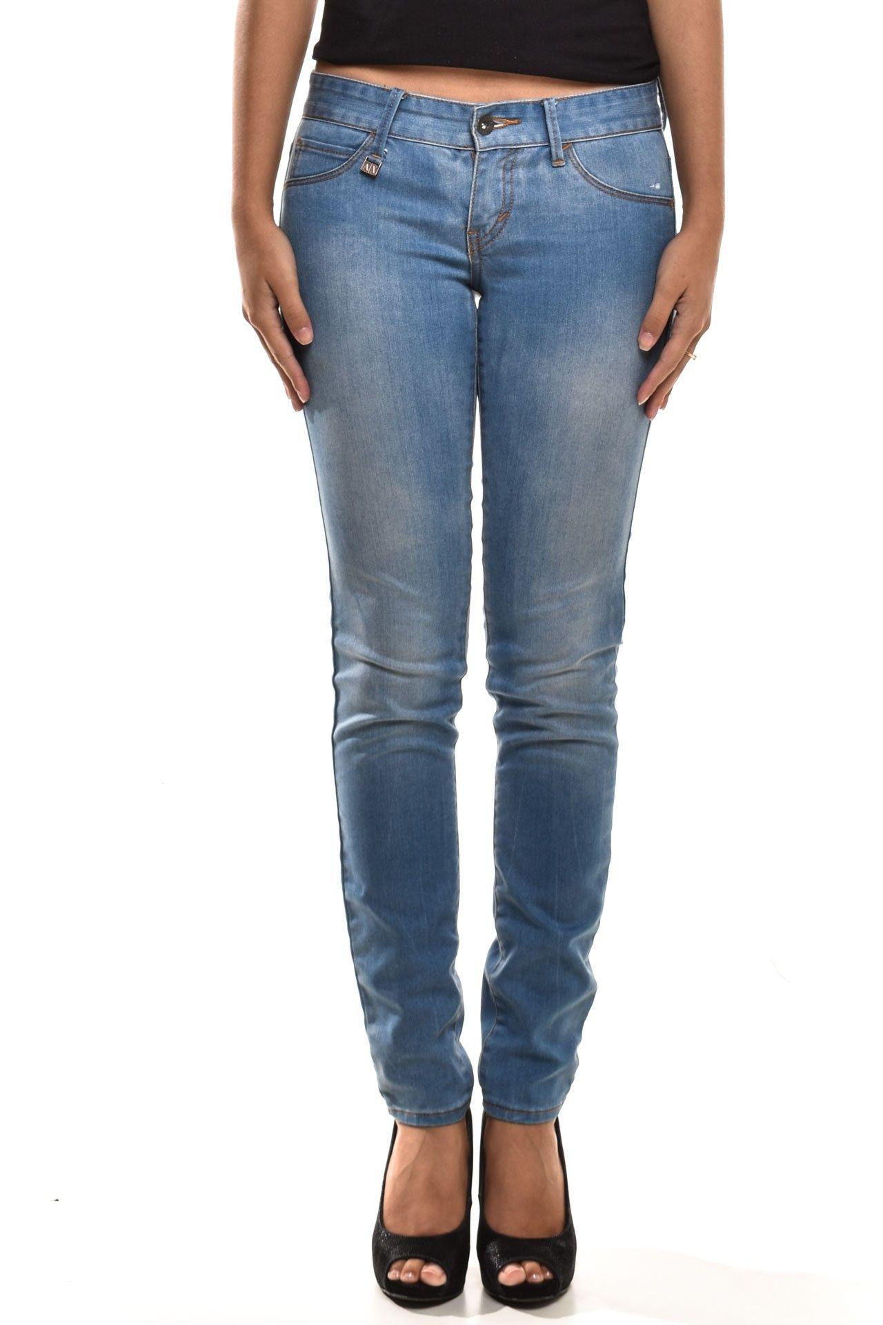 Armani Exchange - Calça Jeans Clara - Foto 1