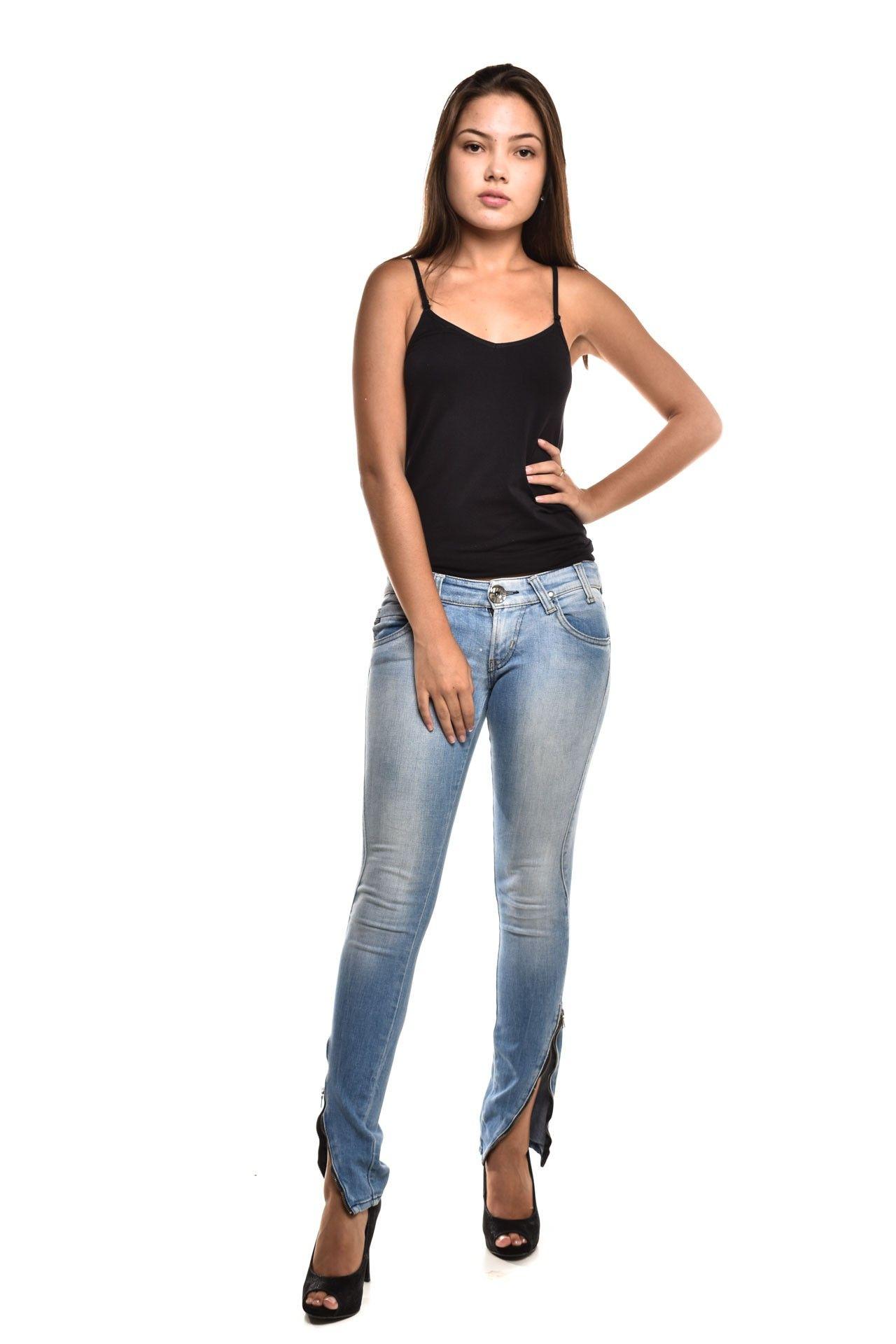 Miss Sixty - Calça Jeans Clara - Foto 2
