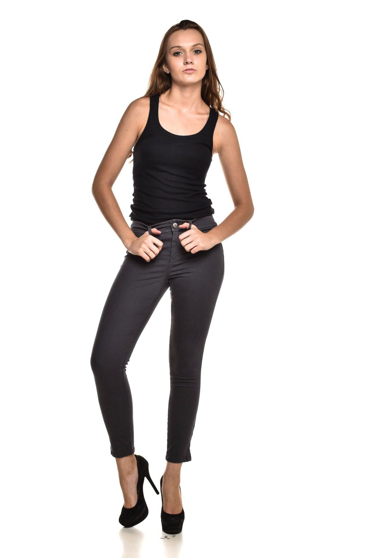 Calvin Klein - Calça Jeans Cinza - Foto 2