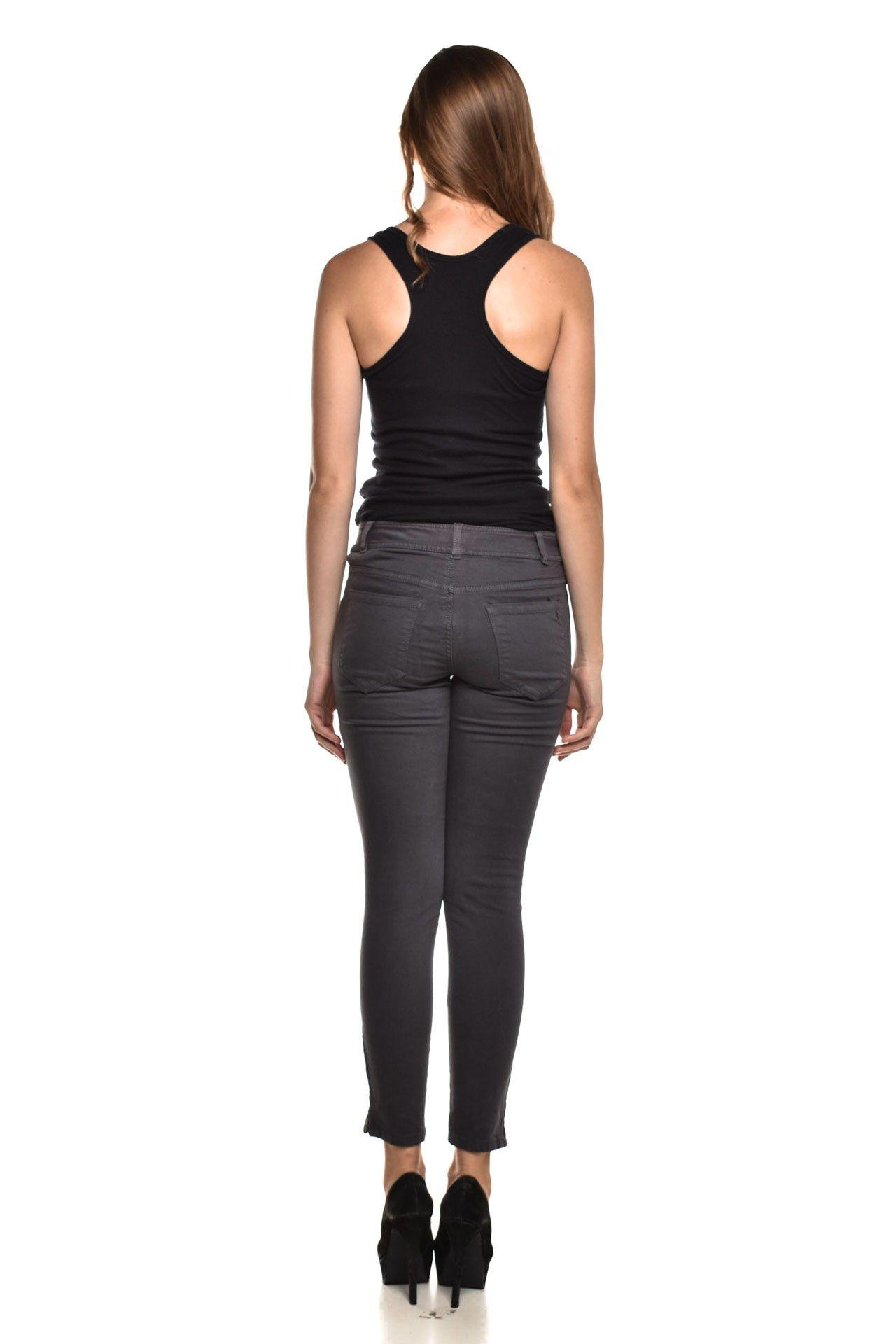 Calvin Klein - Calça Jeans Cinza - Foto 4