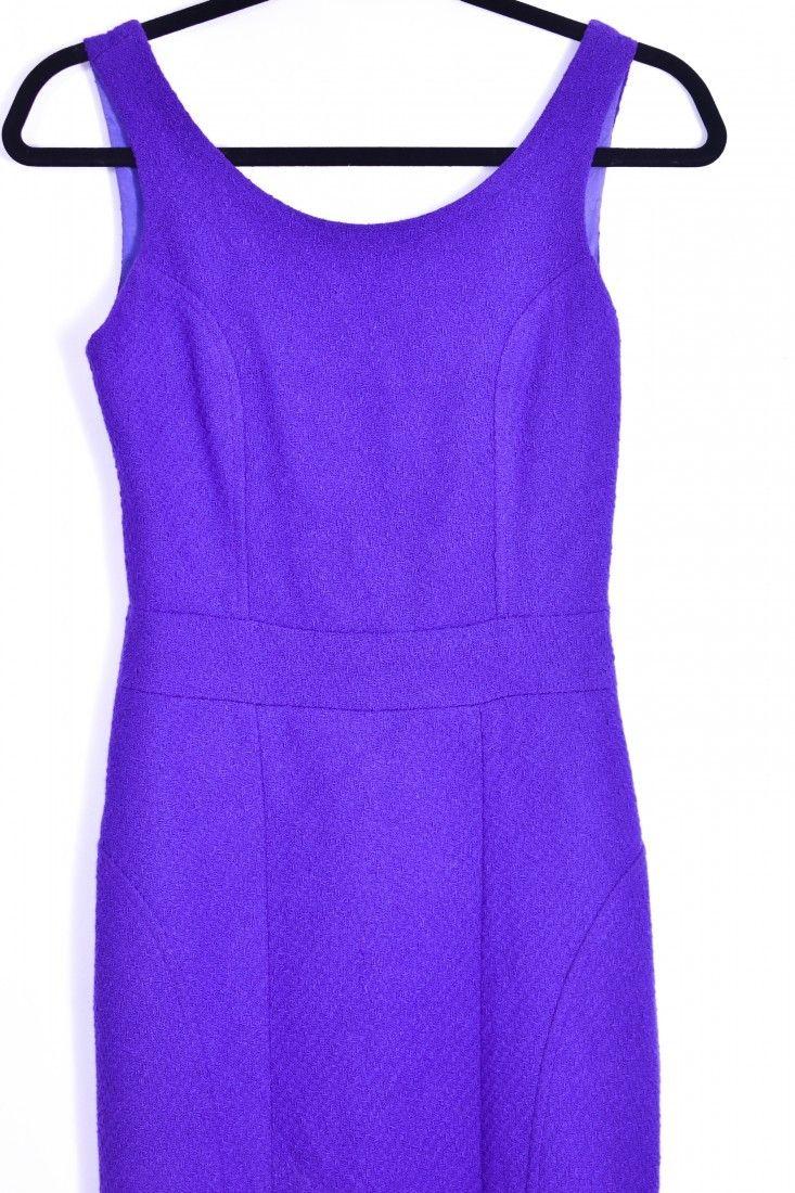 Thelure - Vestido Amarração Roxo - Foto 3