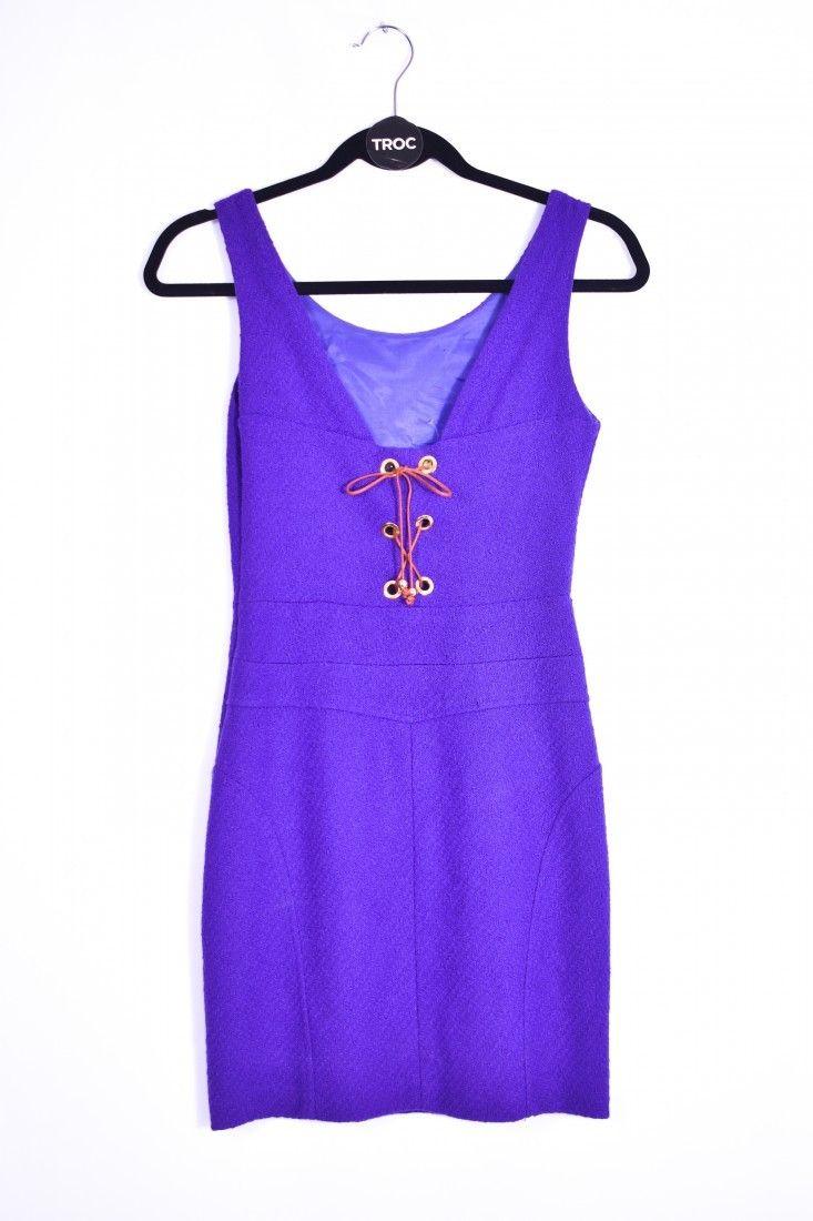 Thelure - Vestido Amarração Roxo - Foto 2