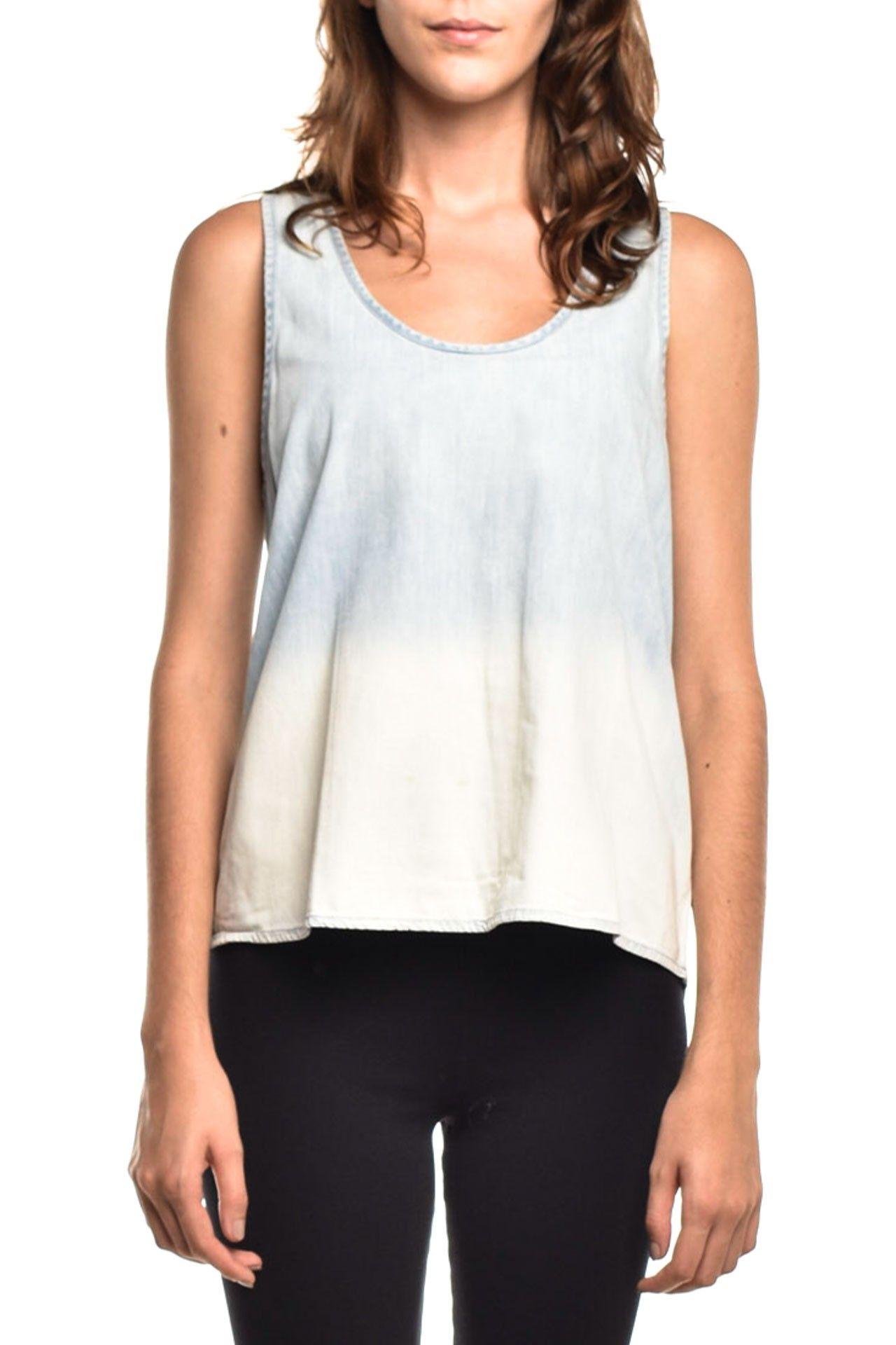 Shoulder - Blusinha Jeans Lavagem - Foto 1
