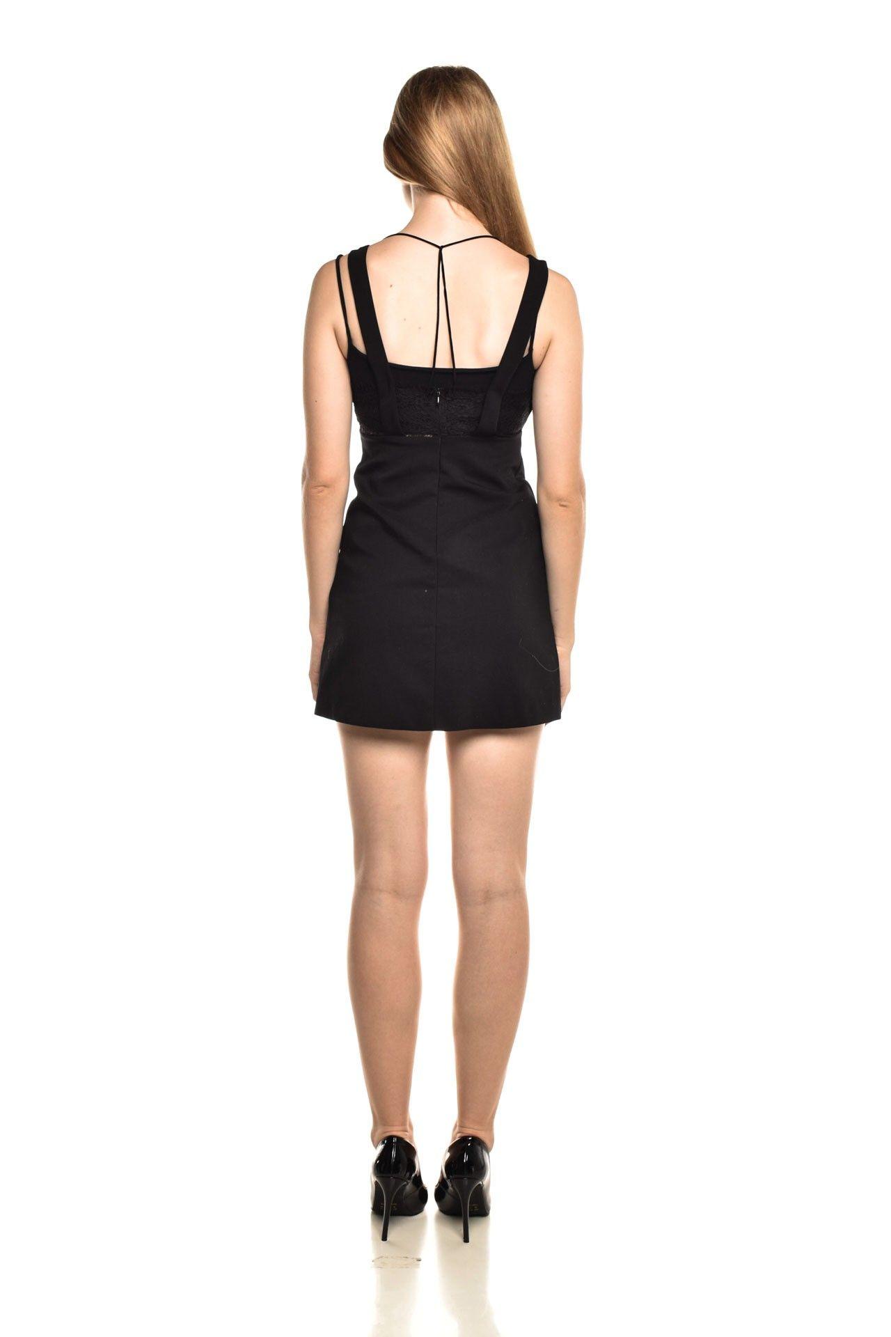 Zara - Vestido Detalhe Renda - Foto 4