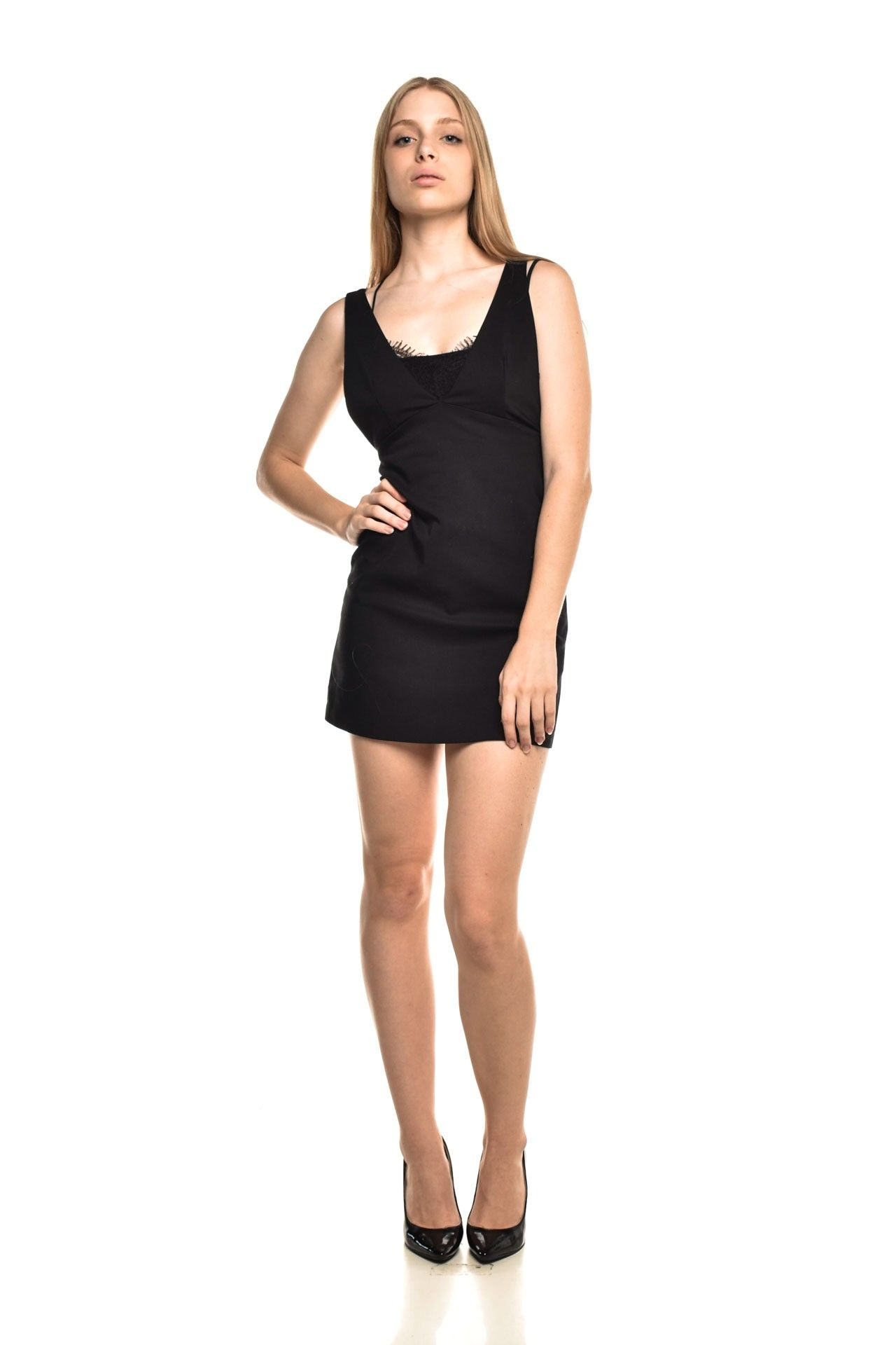 Zara - Vestido Detalhe Renda - Foto 2