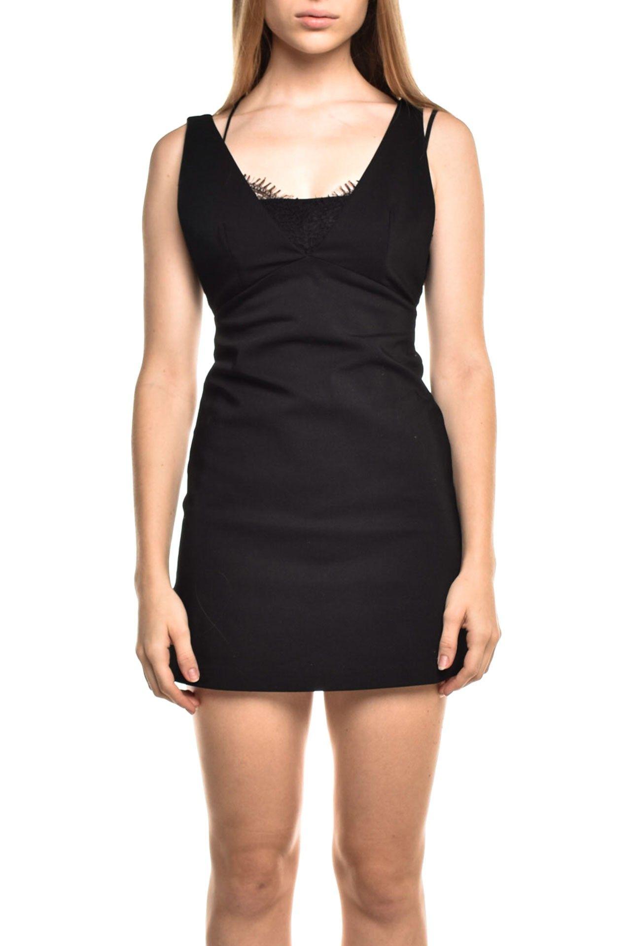 Zara - Vestido Detalhe Renda - Foto 1