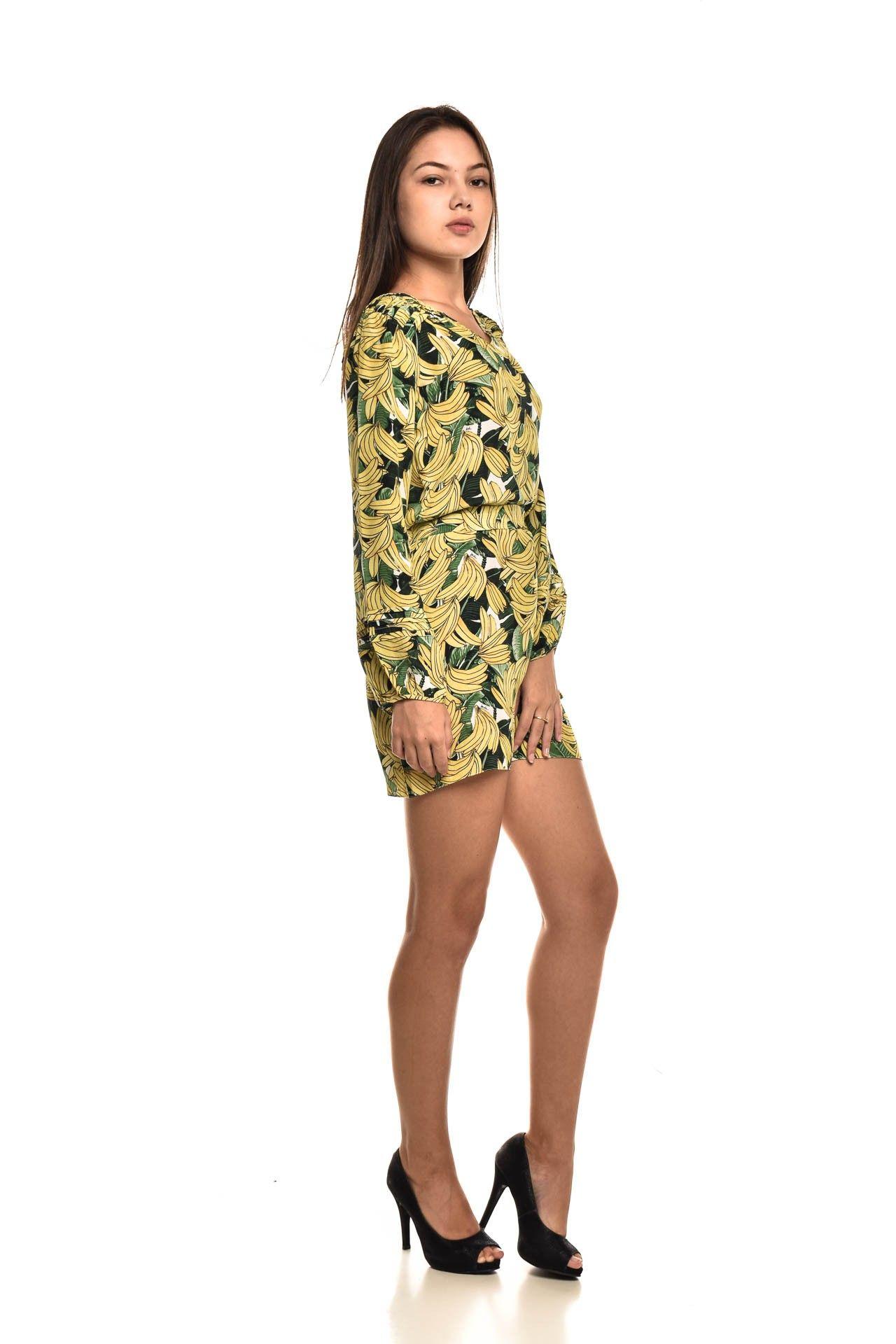 Daslu - Vestido Seda Bananas - Foto 3