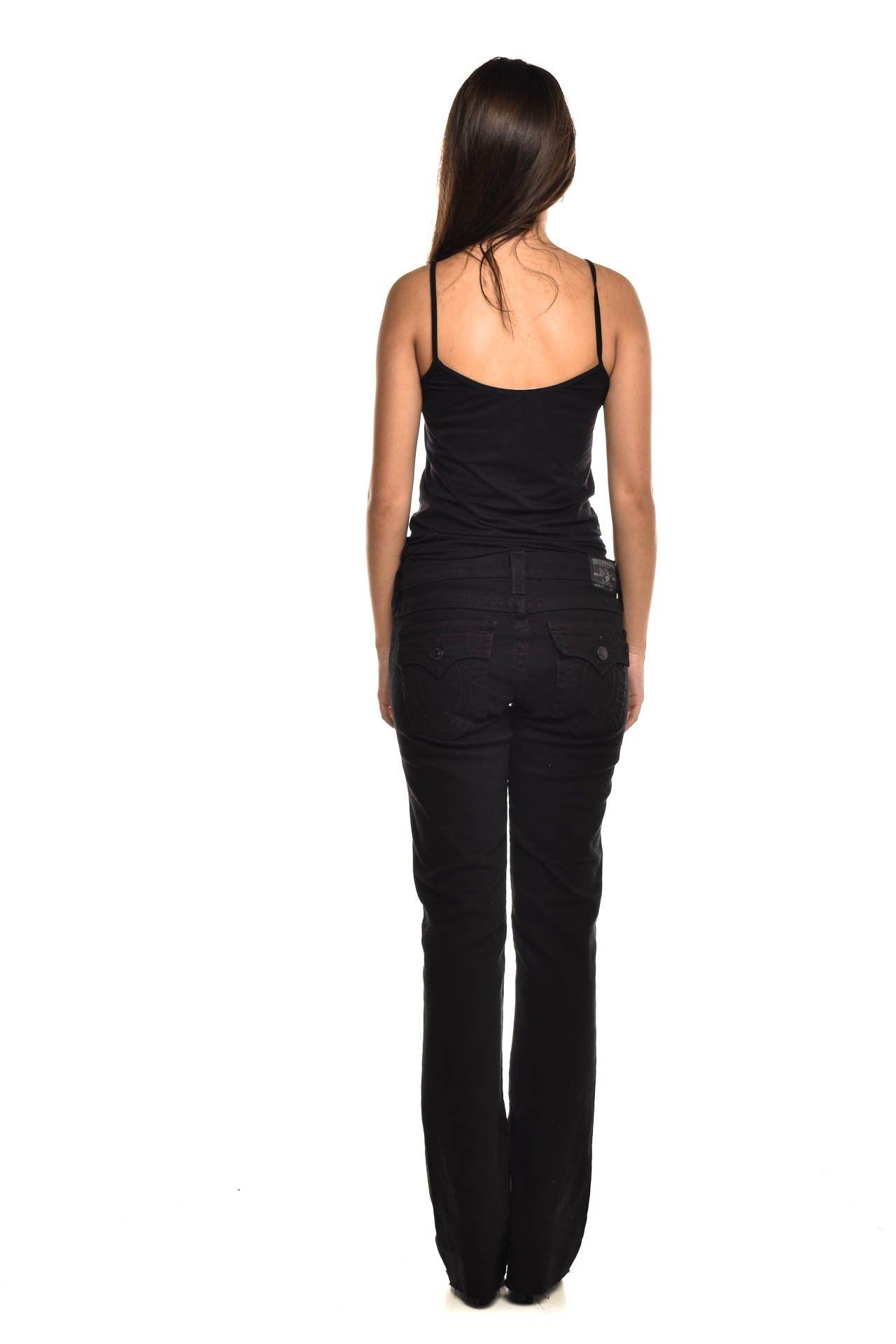 True Religion - Calça Jeans Preta - Foto 4