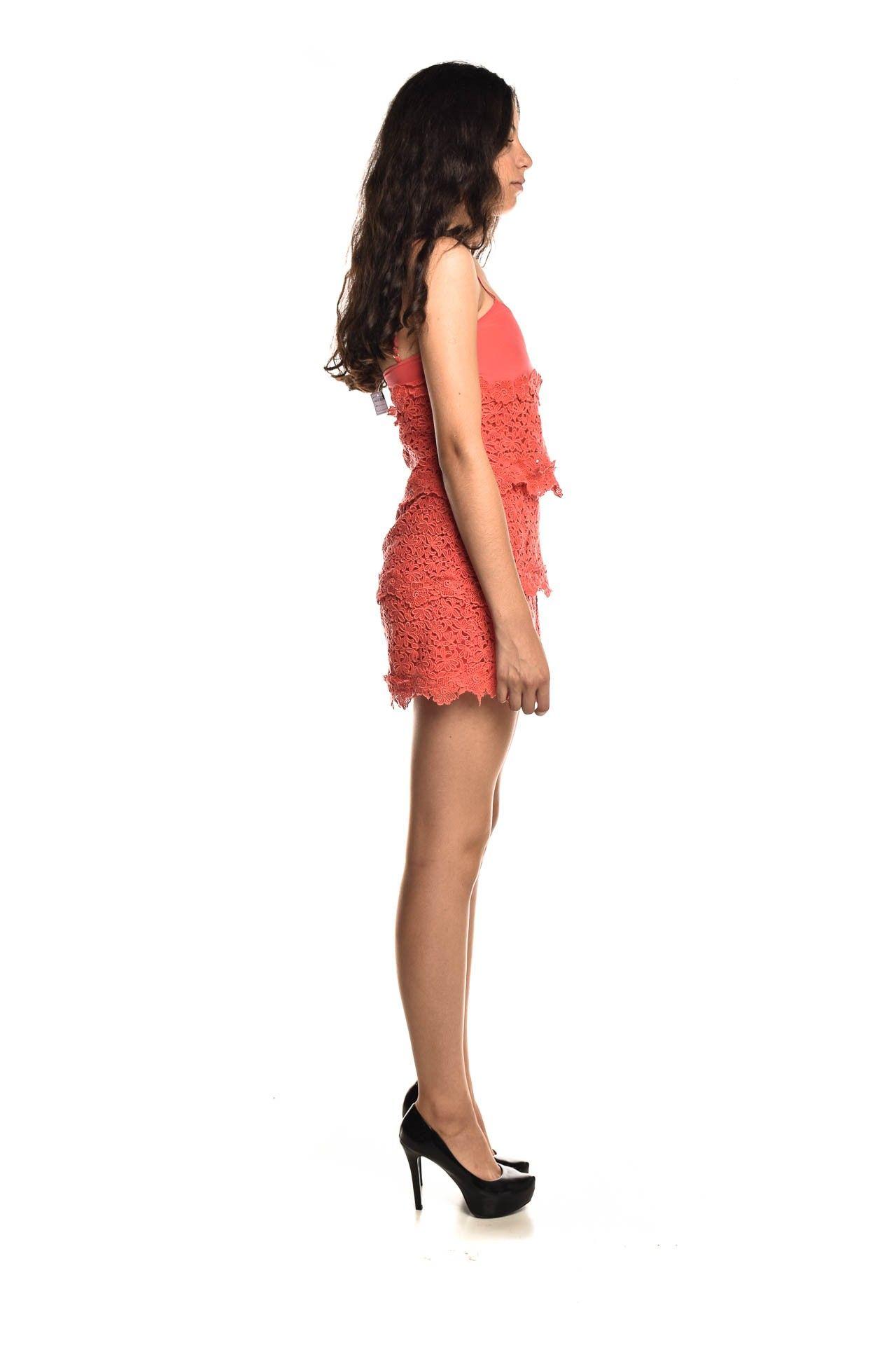 Daslu - Vestido Seda Renda - Foto 3