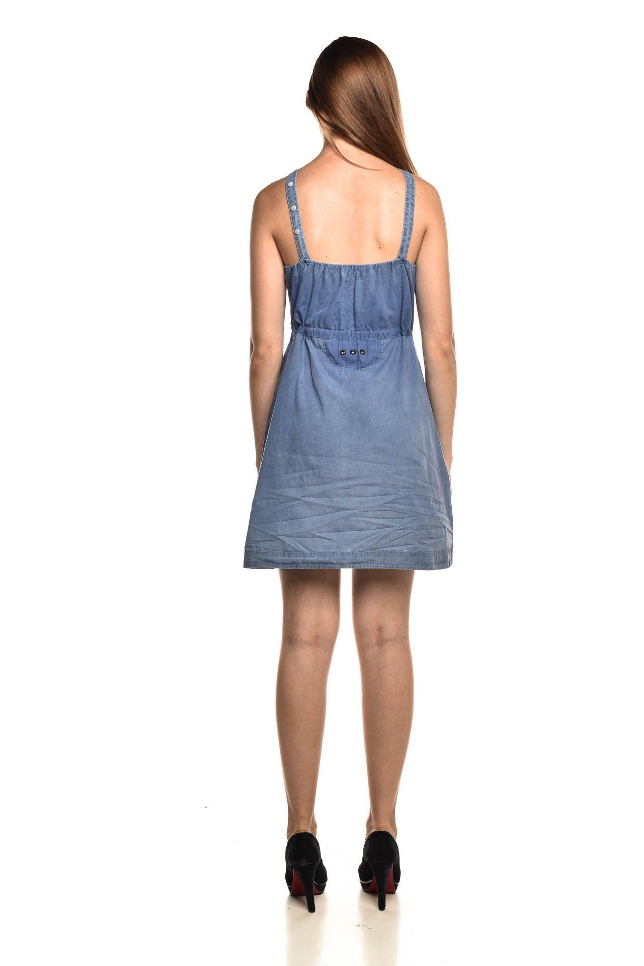 Osklen - Vestido Jeans Azul - Foto 4
