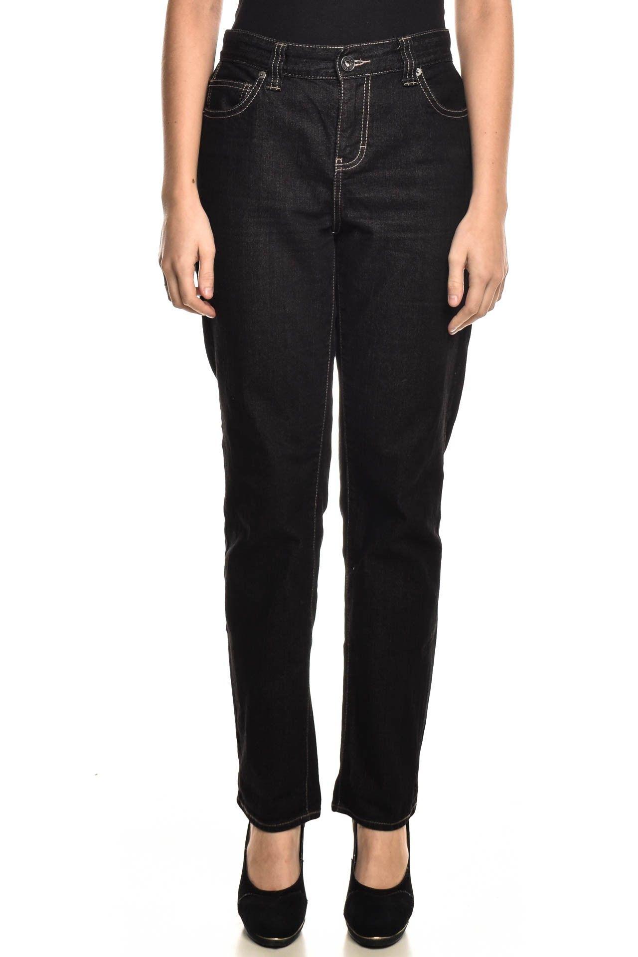 Calvin Klein - Calça Jeans Preta - Foto 1