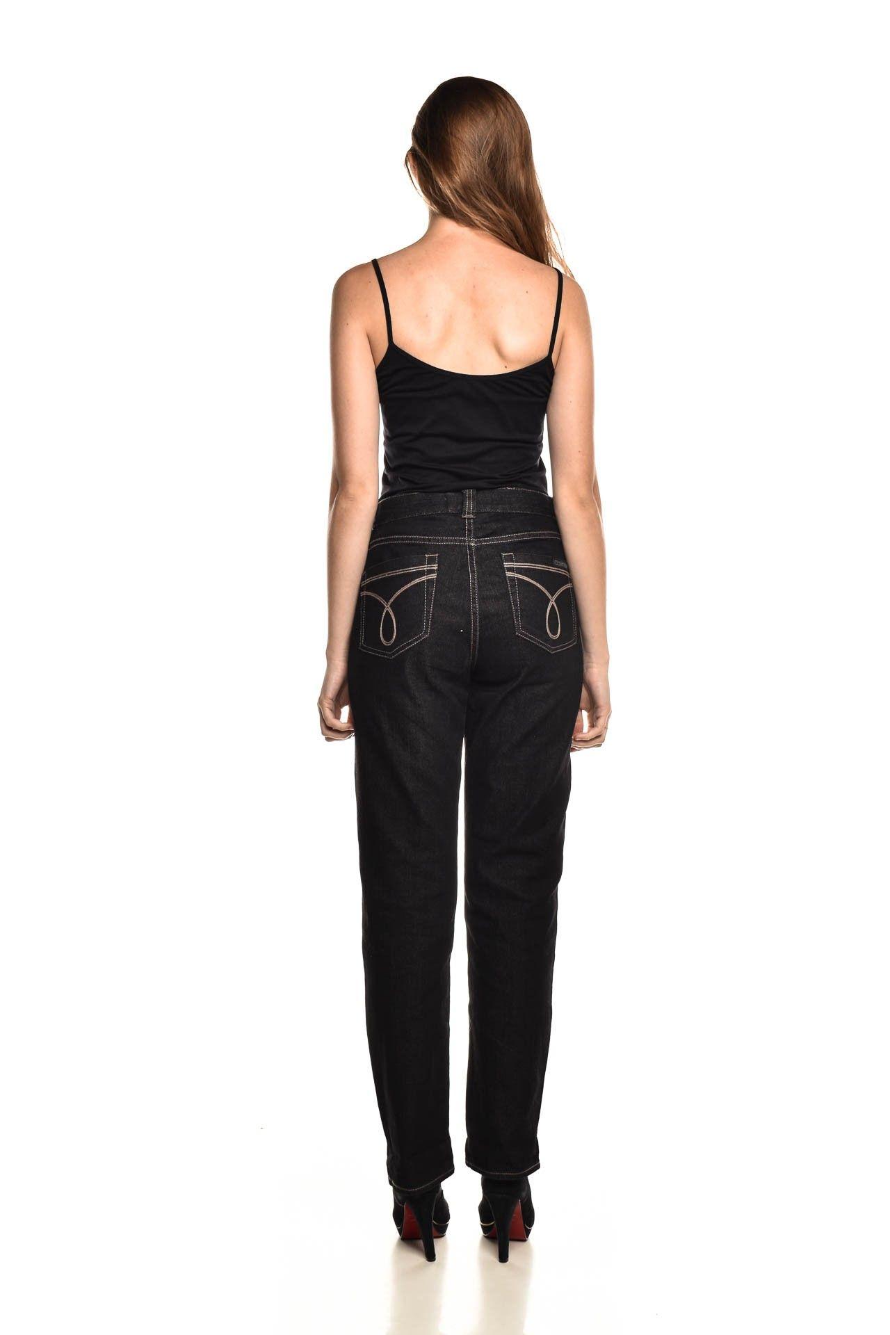 Calvin Klein - Calça Jeans Preta - Foto 4