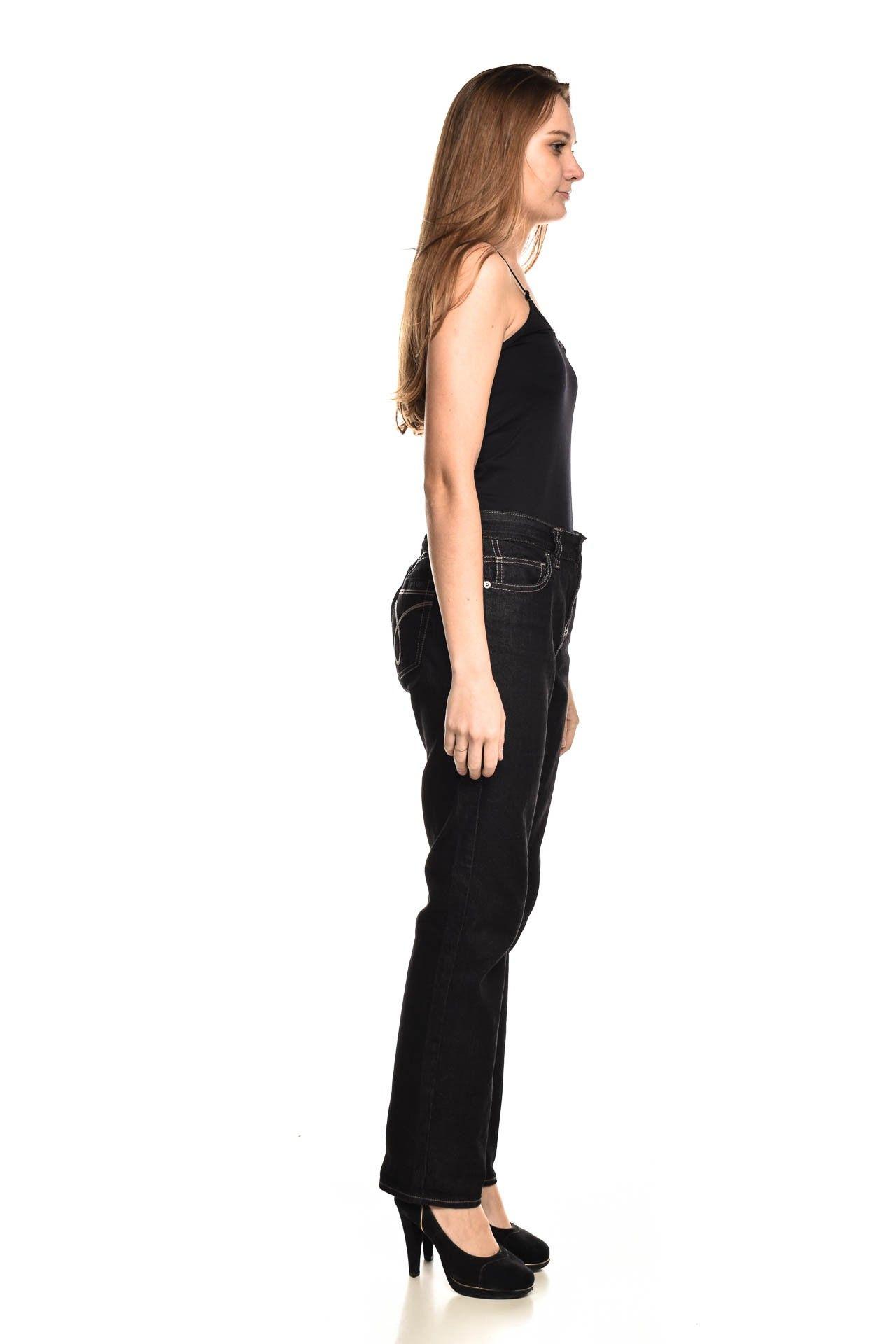 Calvin Klein - Calça Jeans Preta - Foto 3