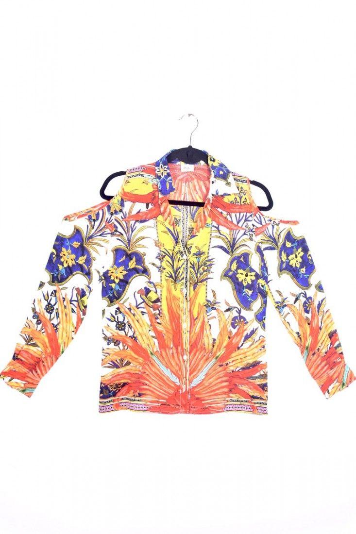 Daslu - Camisa Color Estampa - Foto 1