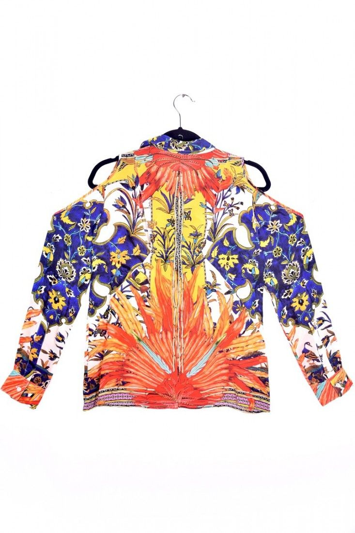 Daslu - Camisa Color Estampa - Foto 5