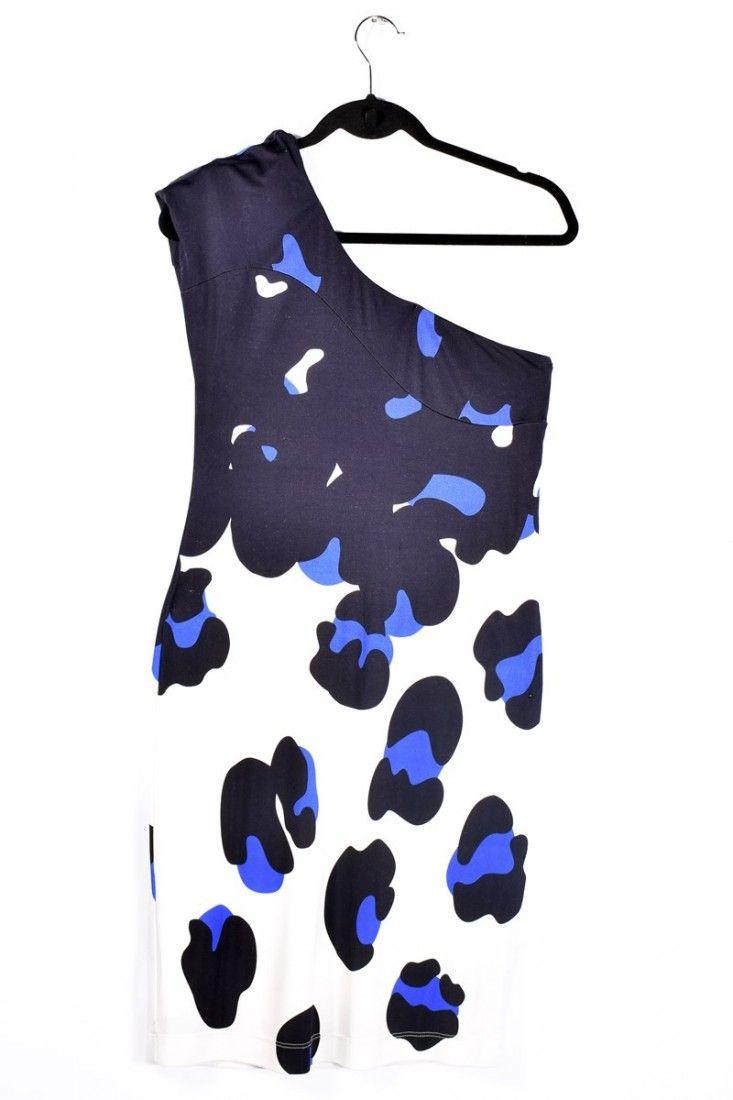 Tufi Duek - Vestido Estampa Splash - Foto 1