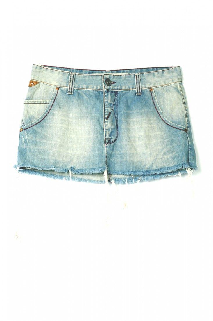 Animale - Saia Jeans Mini - Foto 1