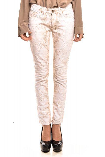 Calça Jeans Estampa Animale