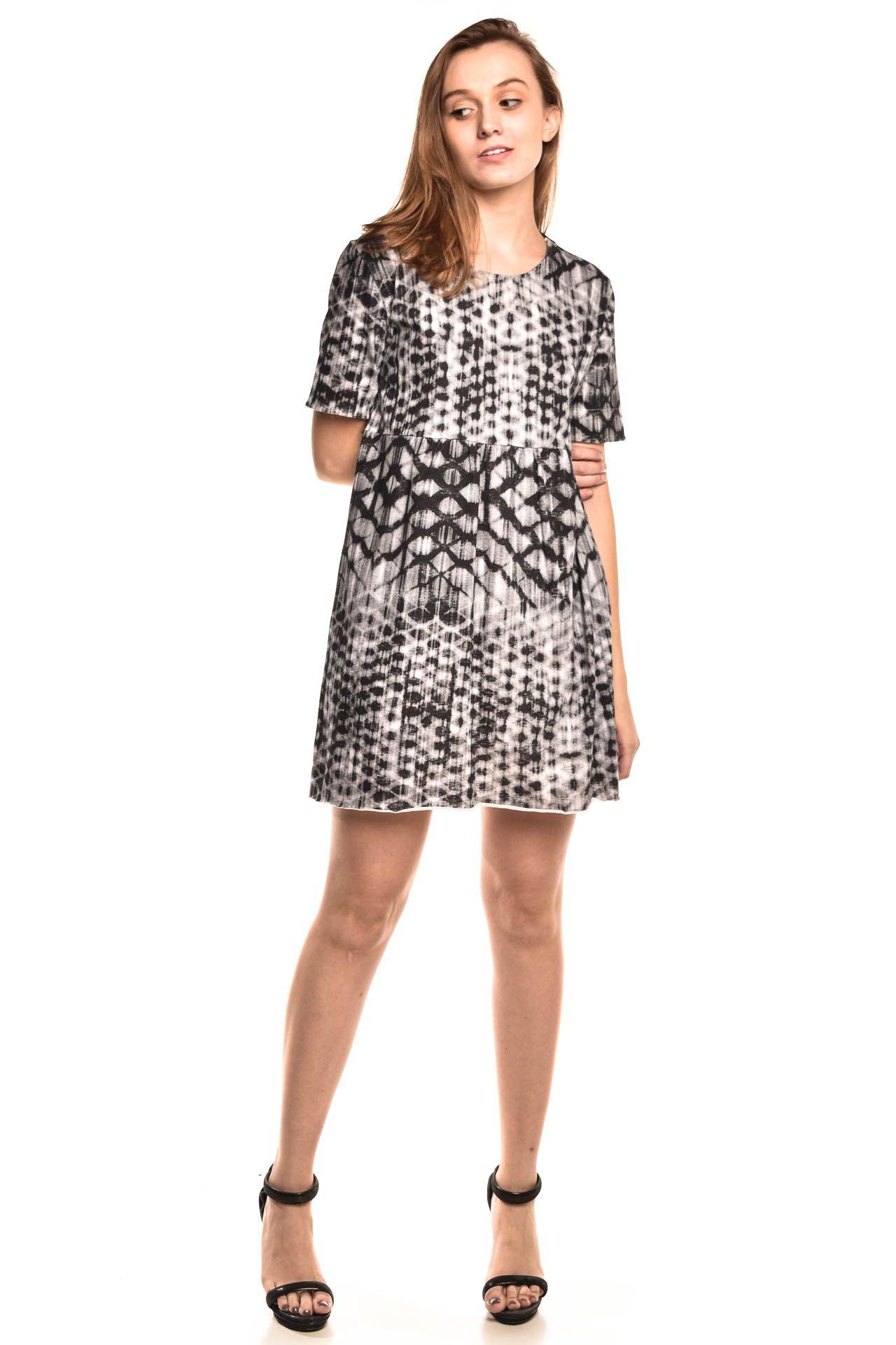 Osklen - Vestido Estampa Mescla - Foto 3