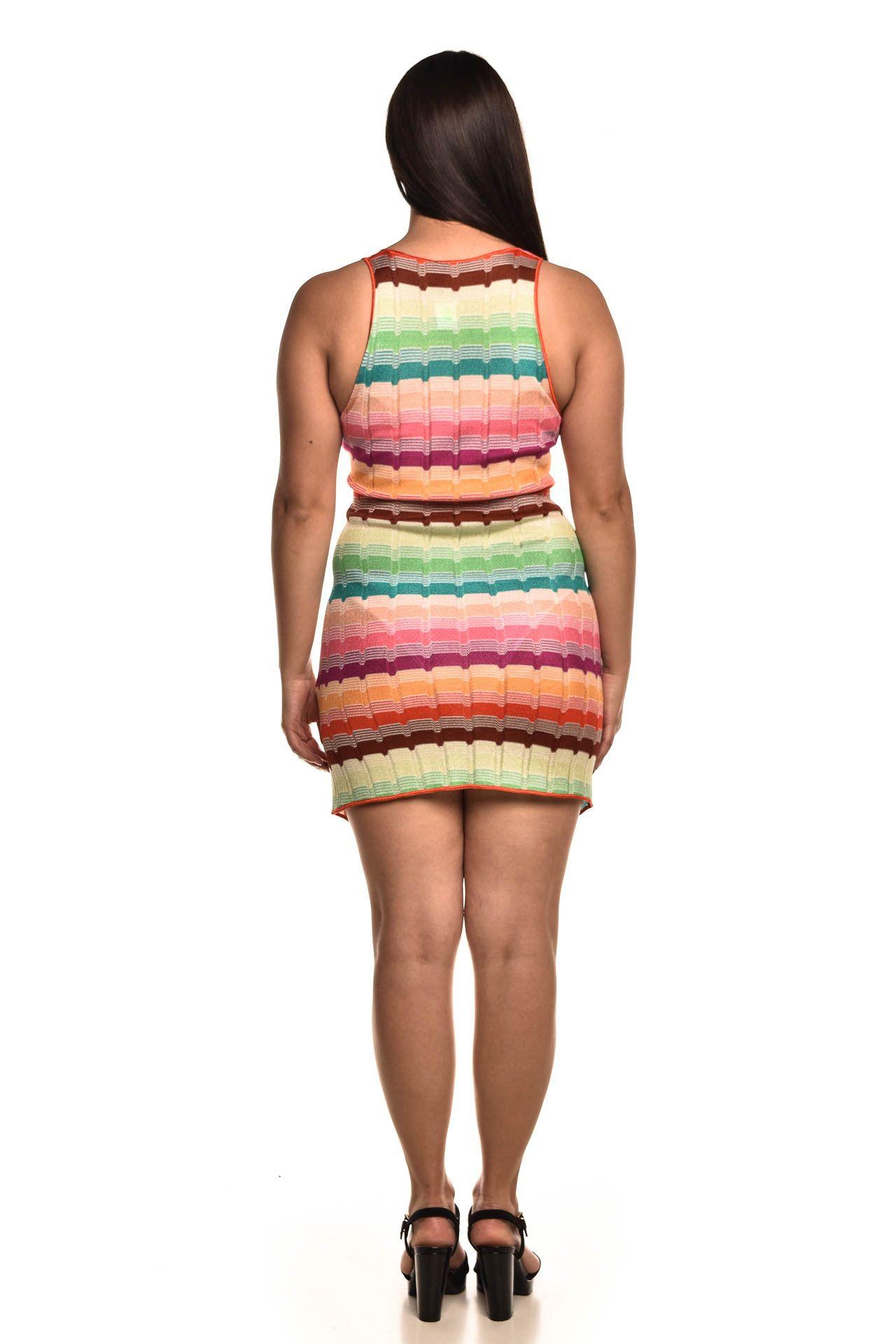 Missoni - Vestido Estampa Colorido - Foto 5