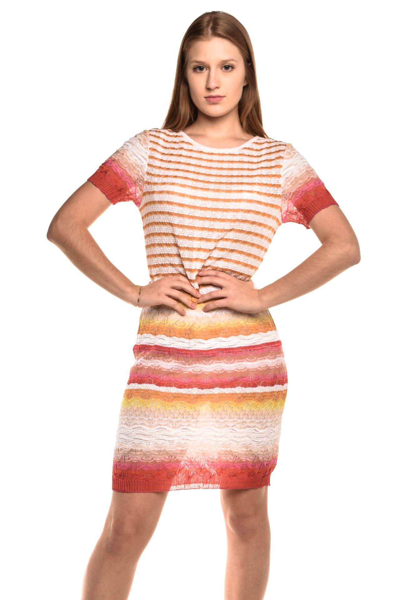Missoni - Vestido Fio Colorida - Foto 1