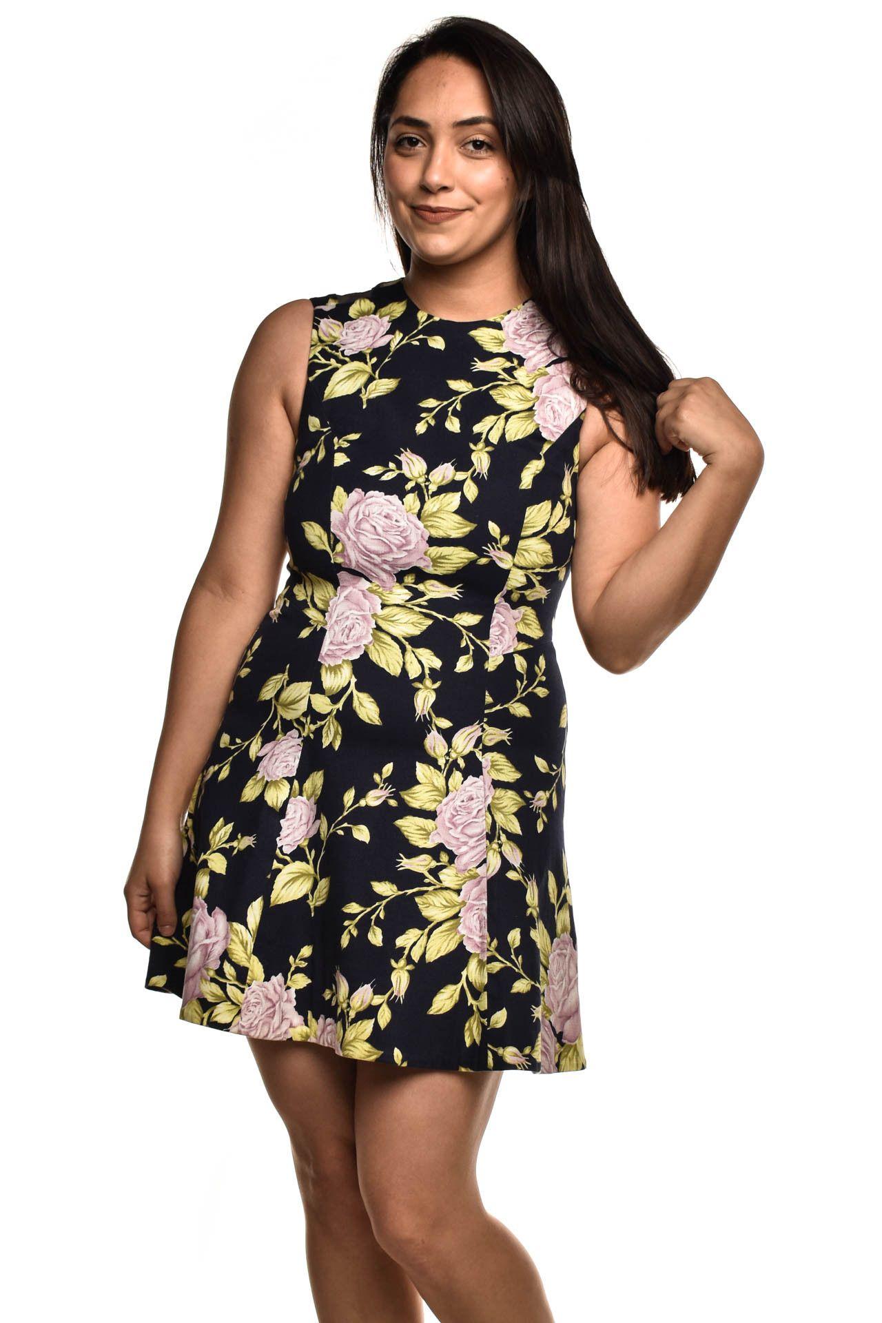 Rag & Bone - Vestido Estampa Floral - Foto 1