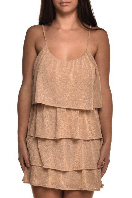 Vestido Camadas Lurex 284