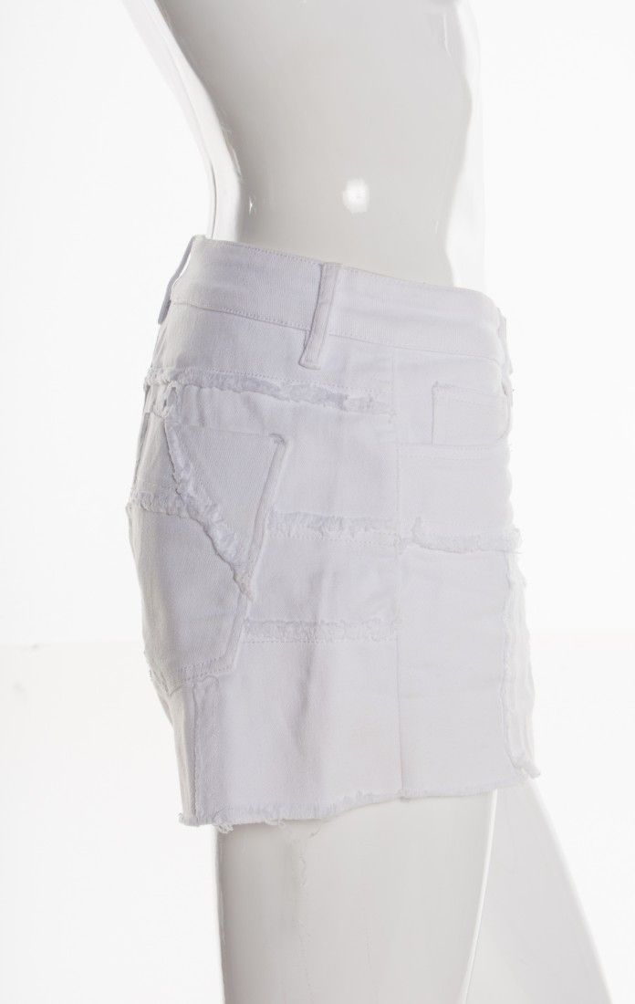 Mixed - Shorts Jeans Branco - Foto 3
