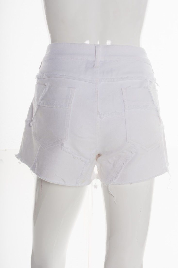 Mixed - Shorts Jeans Branco - Foto 2