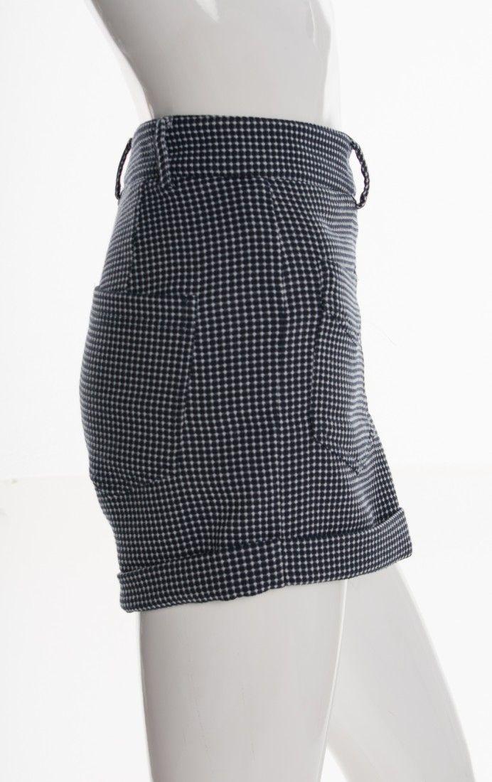 Mixed - Shorts Tweed Azul - Foto 3