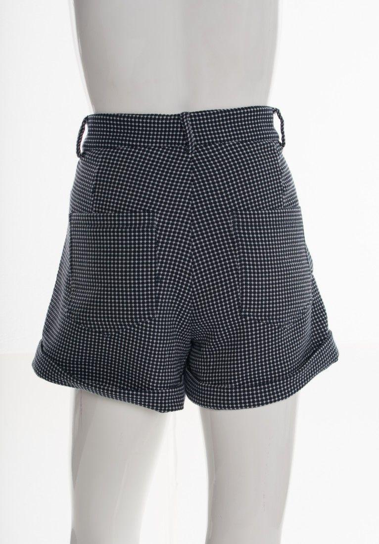 Mixed - Shorts Tweed Azul - Foto 2